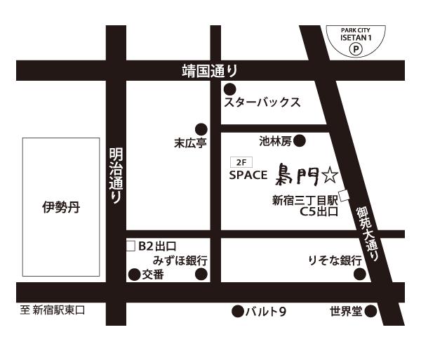 地図_SPACE 梟門